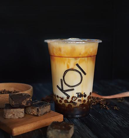 珍珠黑糖奶茶